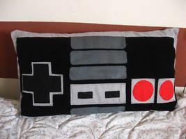 NES pillow by S0yuki