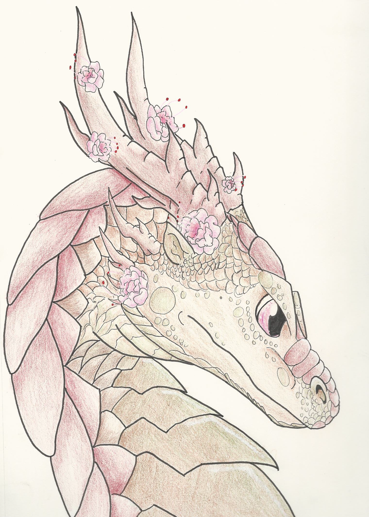Cherry Blossom Dragon by Mightyana190