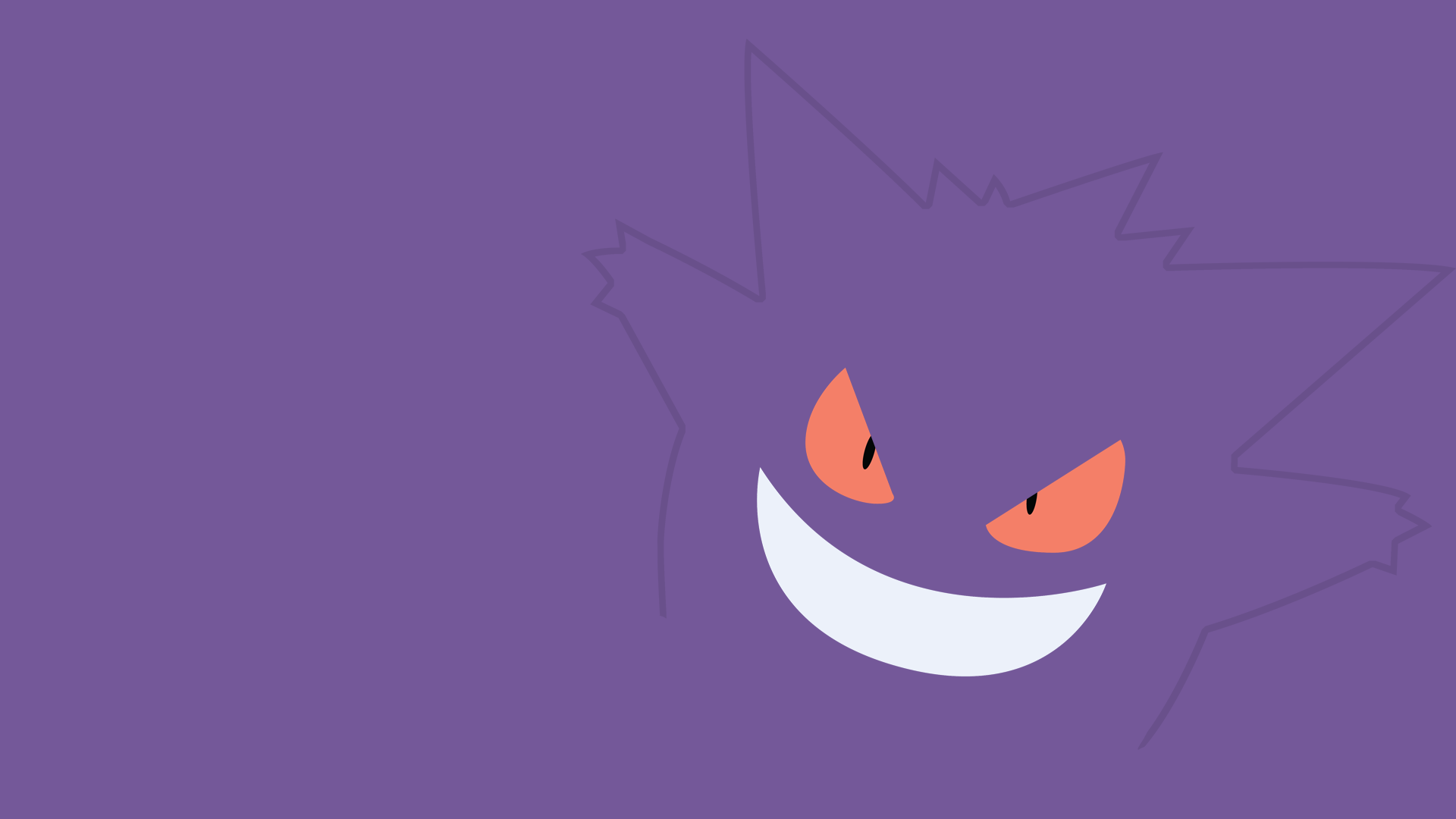 Gengar Wallpaper Hd Pictures to Pin on Pinterest - PinsDaddy