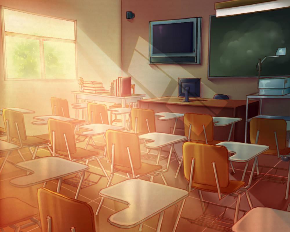 Classroom Setting (Free to use) by Sleepy-Mia