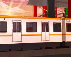 Train Station Setting (Free to Use) by Sleepy-Mia