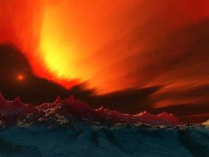 Fire Above, Ice Below