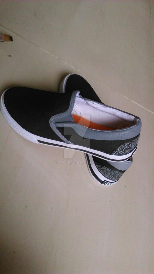 my diy shoes by ejardkethot