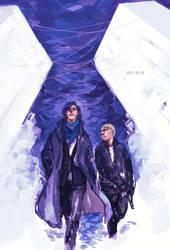 Sherlock and John by wuyemantou