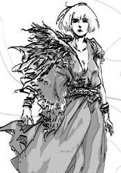 sketch2 by wuyemantou