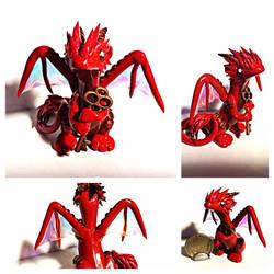 Keeper of keys Dragon by LittleCLUUs