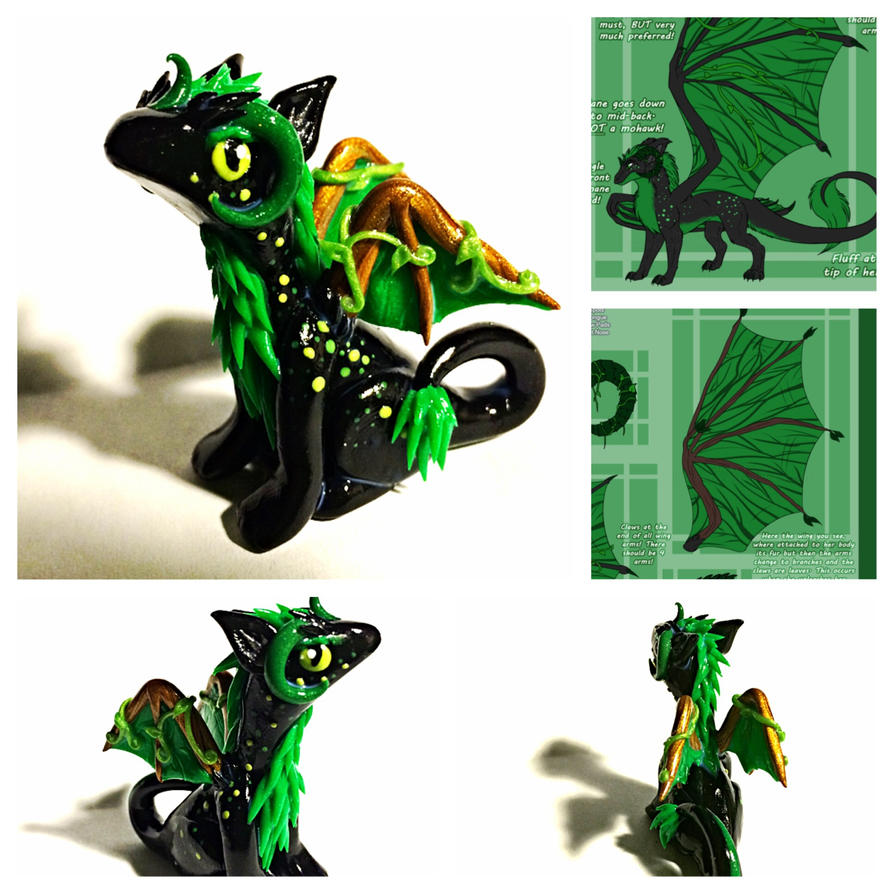 Custom Dragon by LittleCLUUs