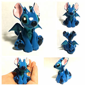 Stitch dragon