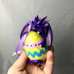 SALE Easter egg dragon
