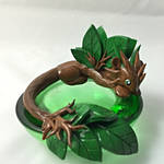 SALE Forest Candle dragon