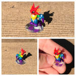 Micro rainbow dragon