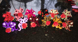 A Dozen Red Roses dragons