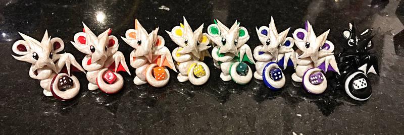 Rainbow Mini Dragon Guardians