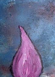 Purple Tear Drop by rosswright