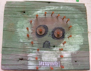 Skull 1 with Rusty Nails