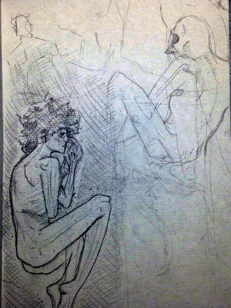 Goodnight Sketch by ThePossessedPuppet