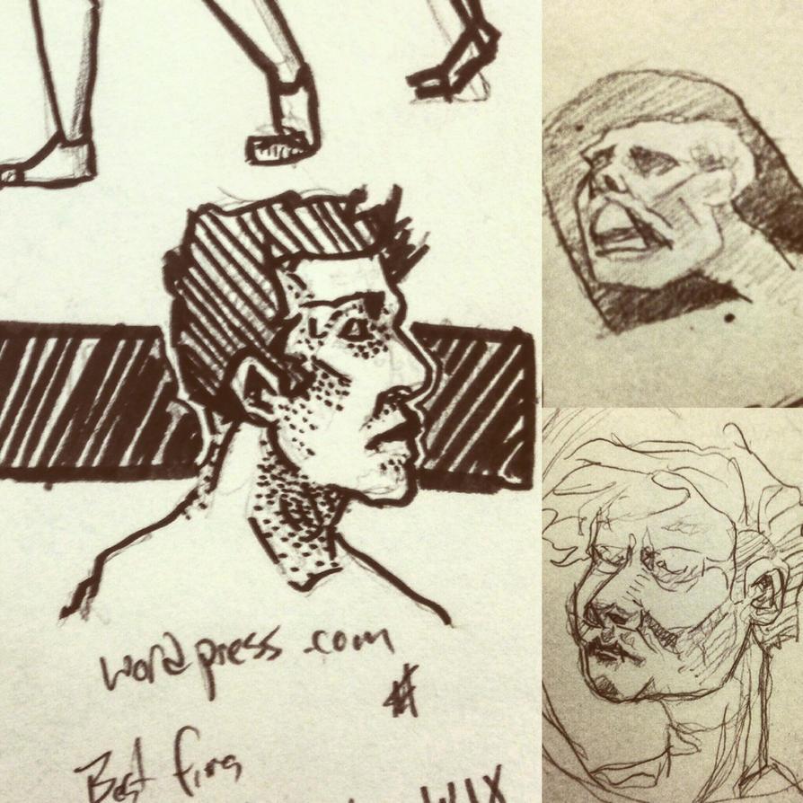 Spring Sketch 3 2016 by ThePossessedPuppet