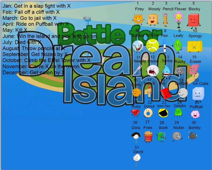 BFDI birthday scenario by alexlion0511 on DeviantArt