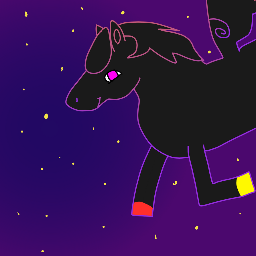 Neon Pegasus by AlexLion0511