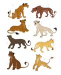 Lionesses Adoptable 1/8 OPEN