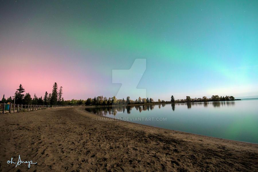 aurora borealis by ummok123