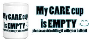 my care cup is empty !