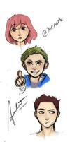 Random Characters Sketch