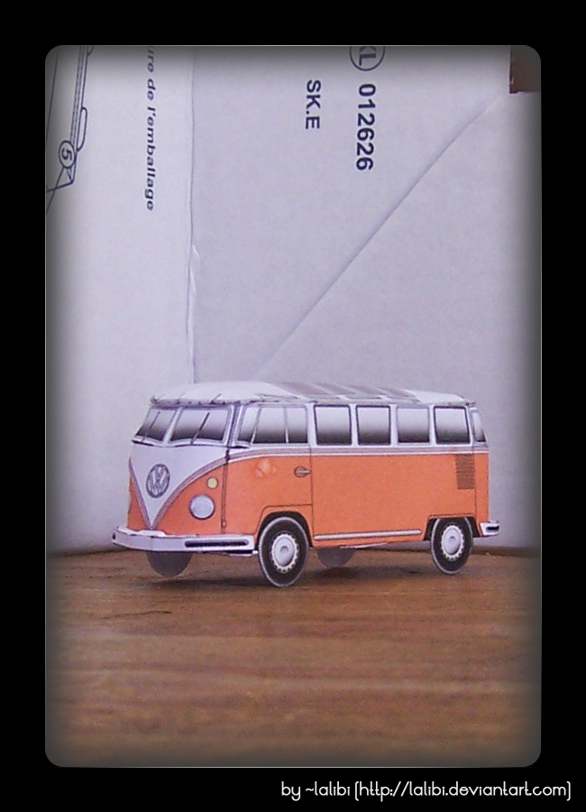 Vw type2 micro bus 1963 23 windows by lalibi on deviantart for 1963 vw bus 23 window