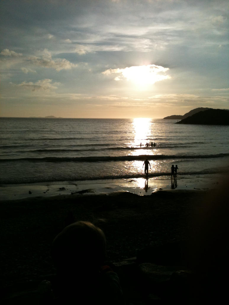 Whitesands Bay by Alice-EB