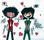 Happy Valentine's day!! by Diamond-Racer