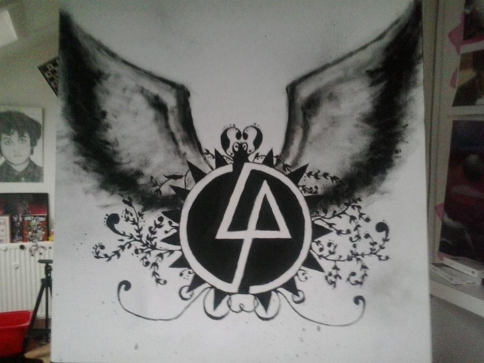 Linkin Park Painting By Diamond Racer On Deviantart