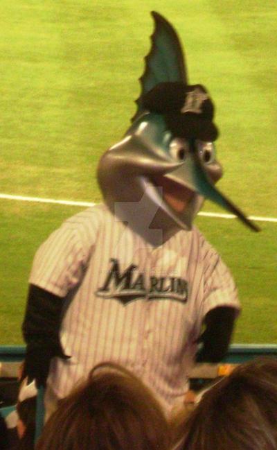 billy the marlin mascot