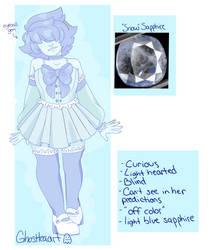 Snow Sapphire by Ghostteaart
