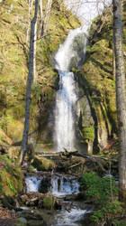 Three Tier Waterfall in N.Japan by anjicle
