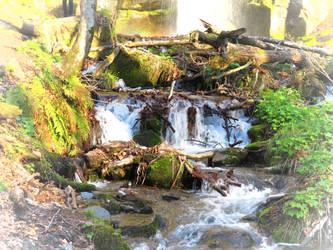 Waterfall in N.Japan by anjicle