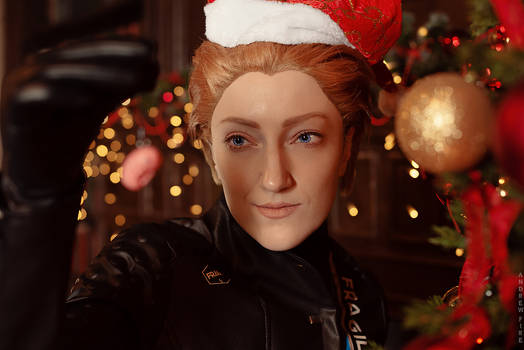 Happy Holidays! [Death Stranding cosplay]