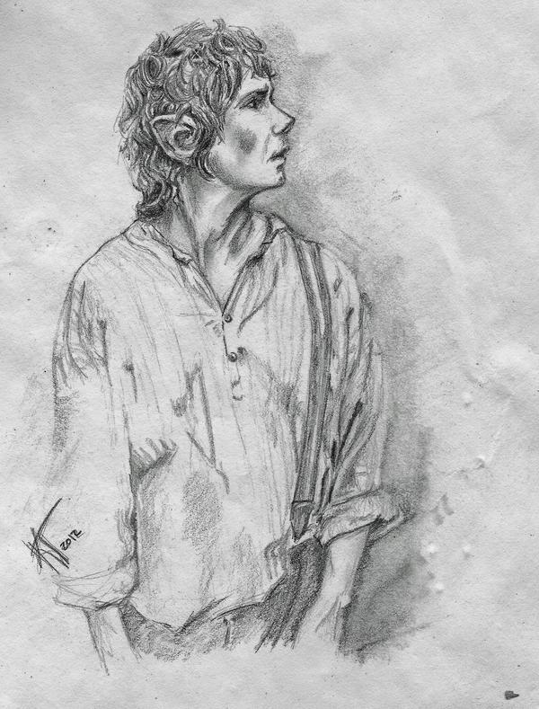Bilbo Baggins by untroubledheart