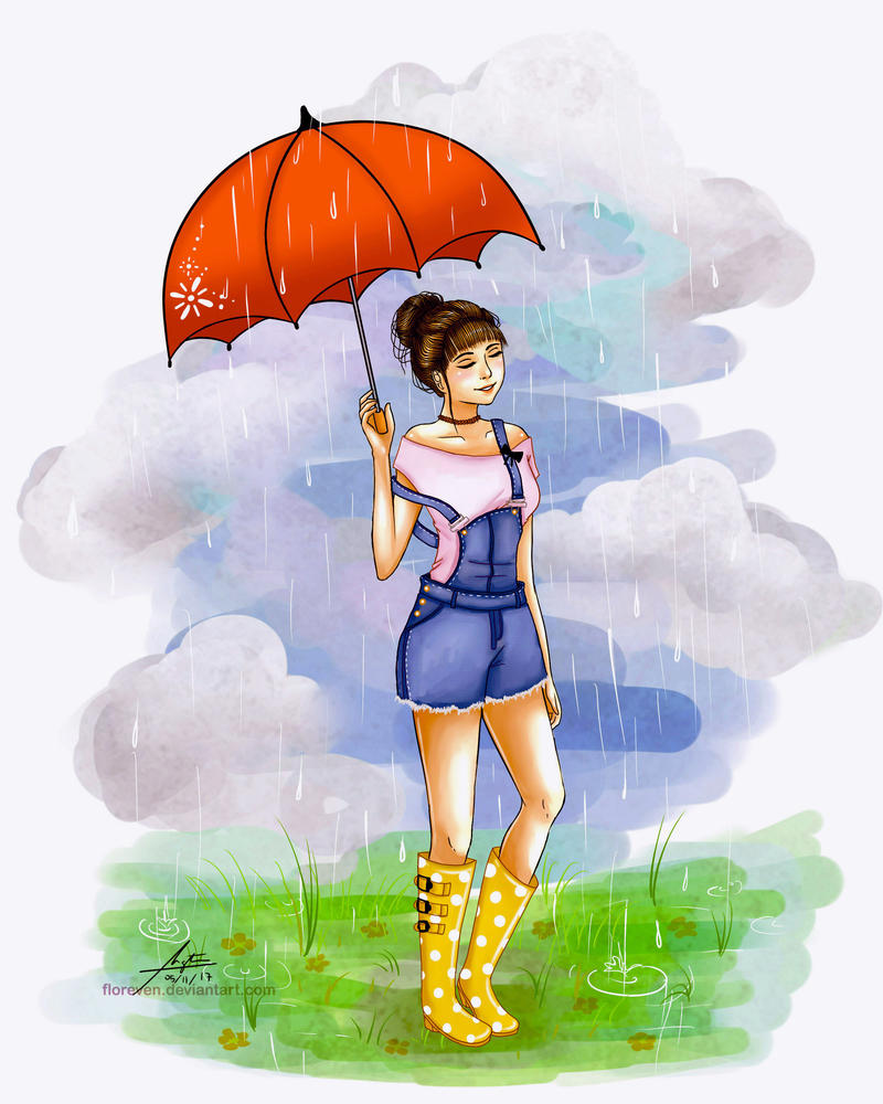 Summer Rain By Floreven On DeviantArt