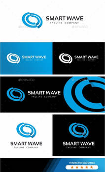 Smart Wave Logo Template