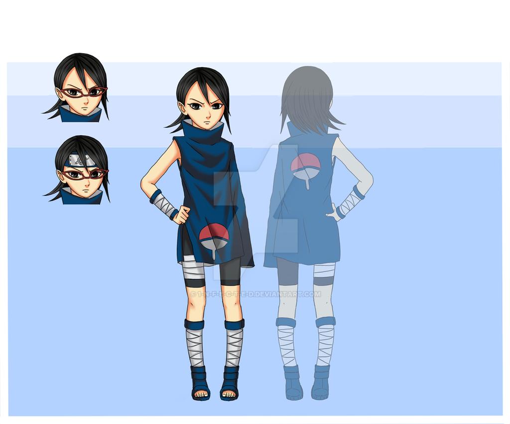 +Sarada Uchiha Ninja outfit+ by 1-N-F-E-C-T-E-D on DeviantArt