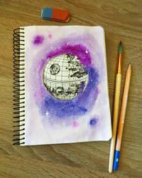 Death Star by RitaMaskros