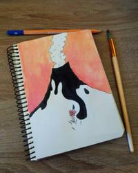 Volcano  by RitaMaskros