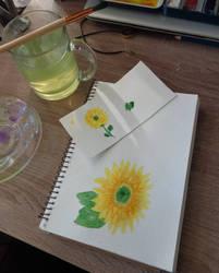 Sunflower  by RitaMaskros