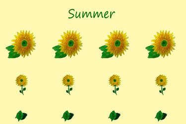 Summer pattern  by RitaMaskros