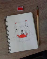 Crab by RitaMaskros
