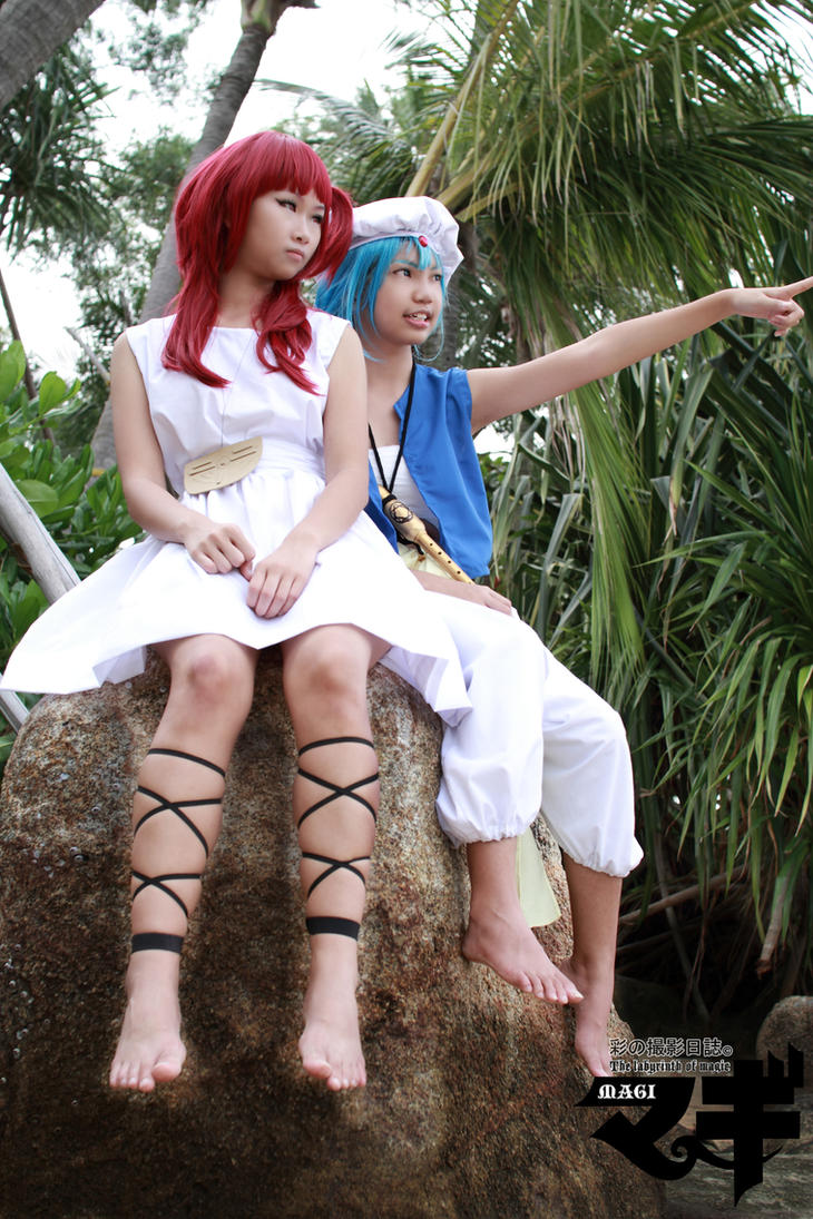 look over there magi cosplay by vividplus on deviantart. Black Bedroom Furniture Sets. Home Design Ideas