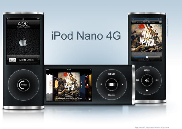 iPod Nano 4G by chromatix
