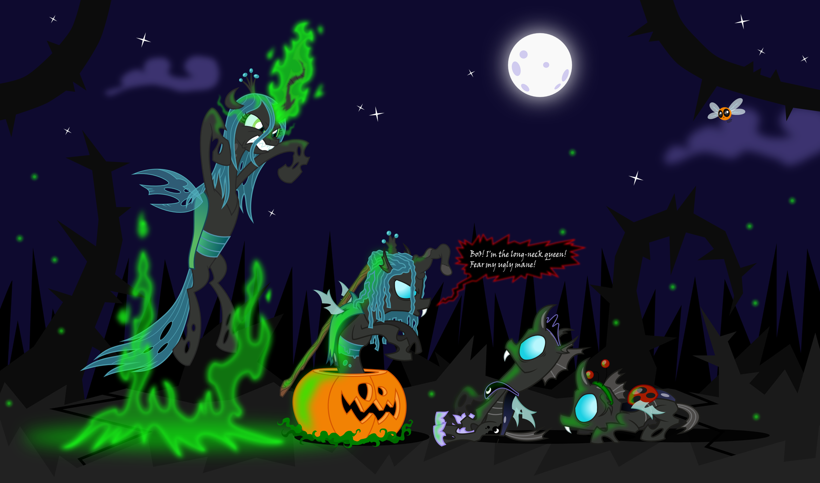 Too late for Halloween? I hope not by zimvader42 on DeviantArt
