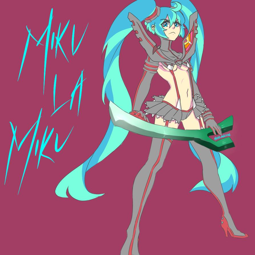 Miku la Miku 2 by HikariMimamoto