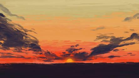 Missouri Sunset (Wallpaper) by pnutbutterprincess